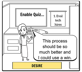 Customer Acquisition Storyboard-Desire
